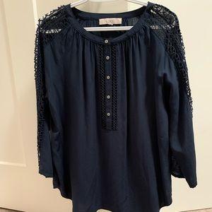 Loft 3/4 length blouse